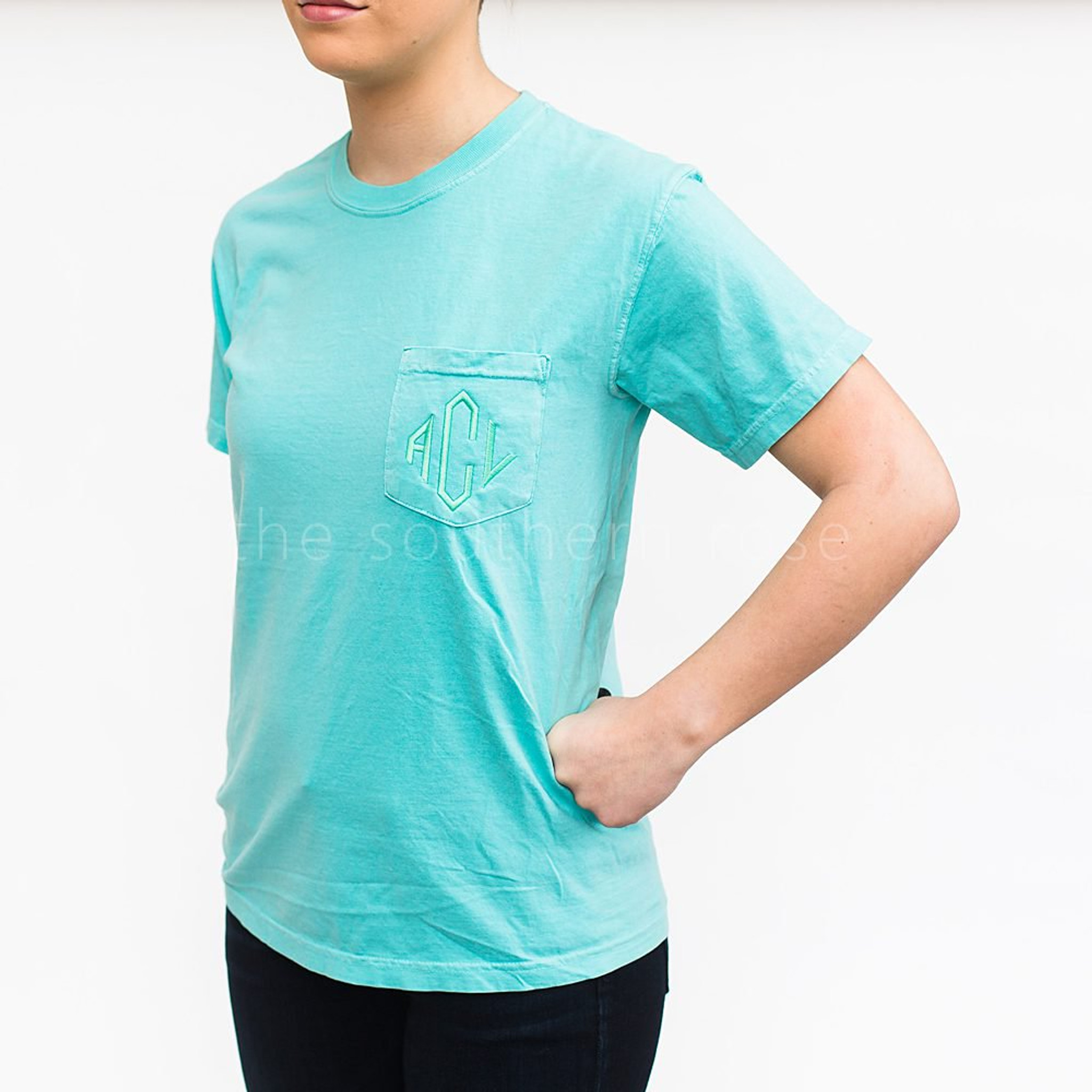 Comfort Colors Short Sleeve - Chalky Mint