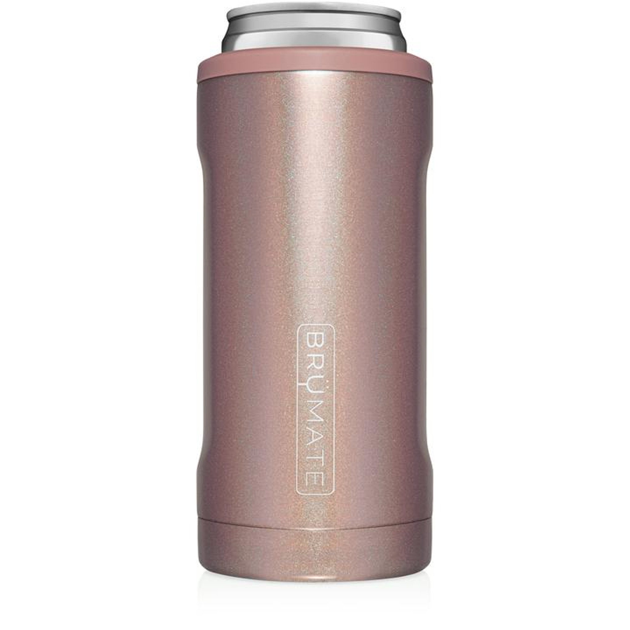 Brumate Slim Hopsulator - Glitter Rose Gold