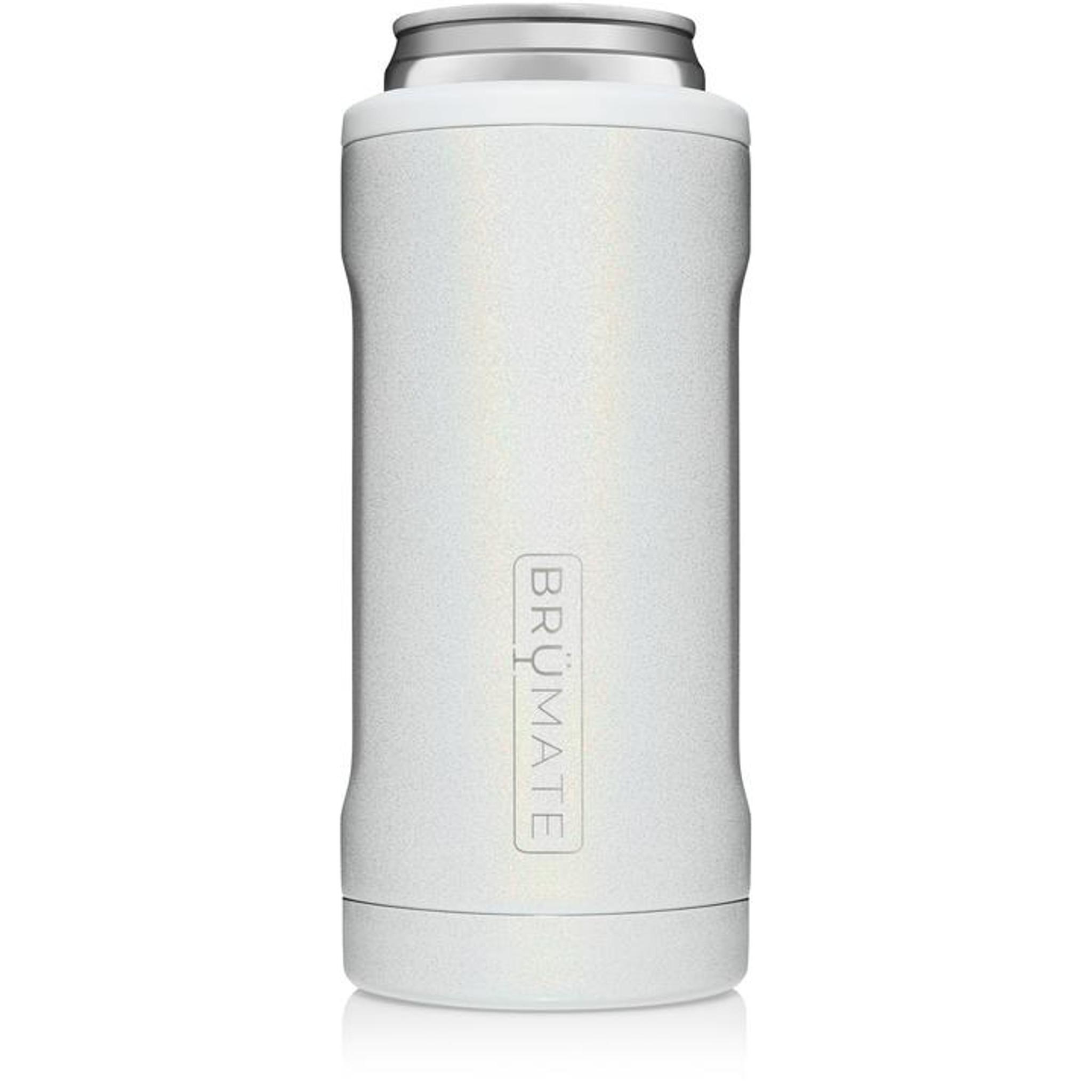 Brumate Slim Hopsulator - Glitter White