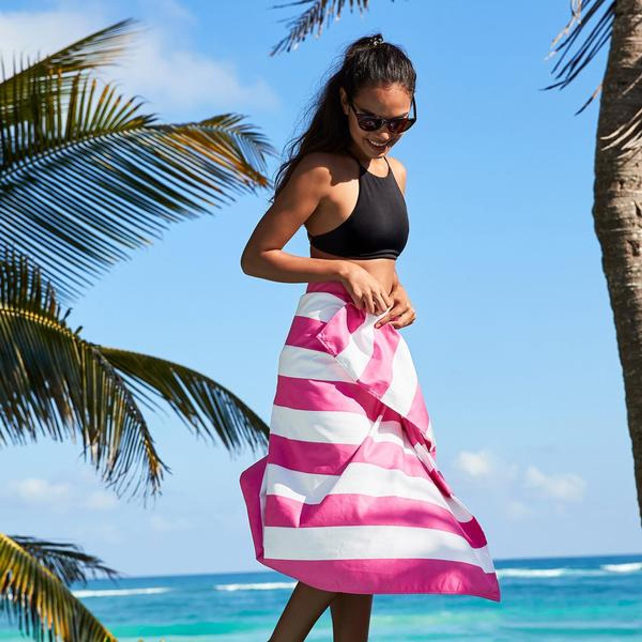 Dock & Bay Quick-Dry XL Towel - Phi Phi Pink