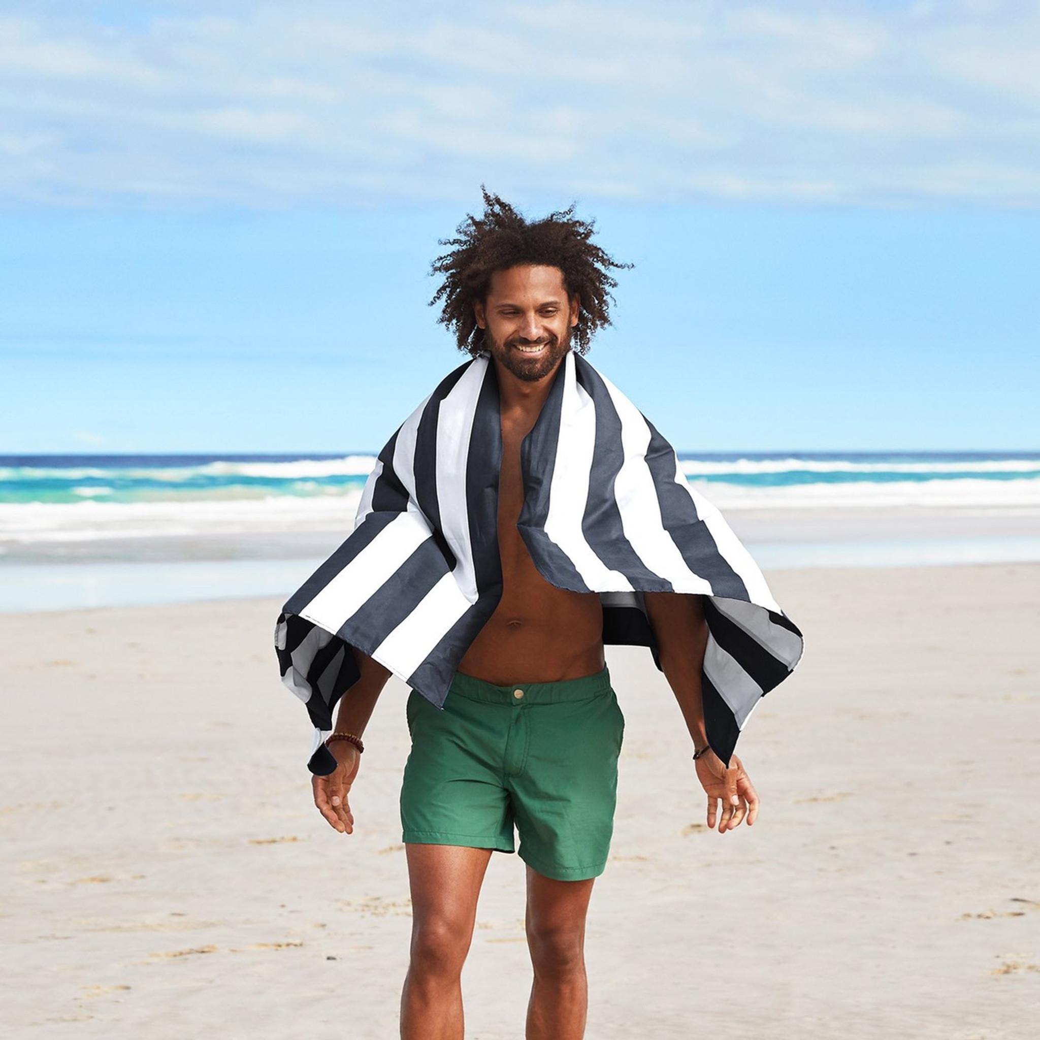 Dock & Bay Quick-Dry Large Towel - Kamari Charcoal