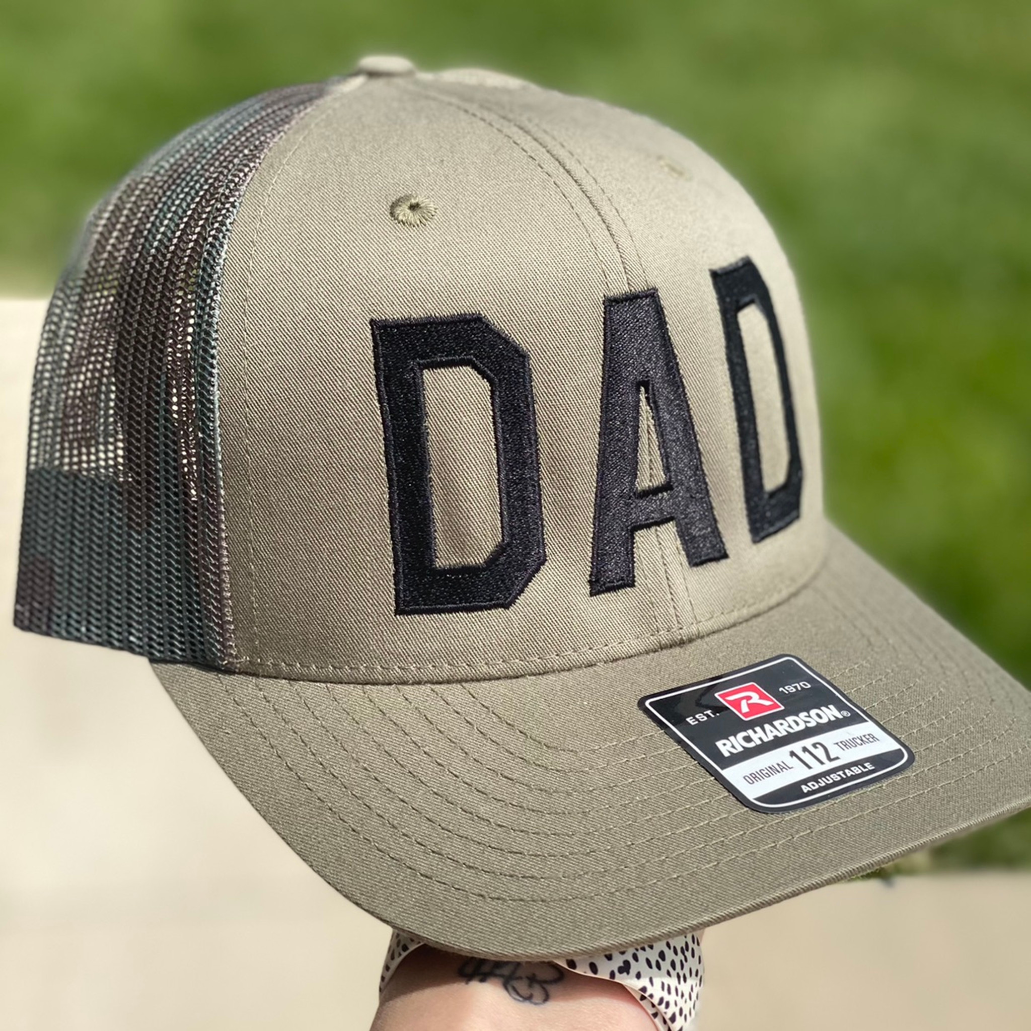 Men's Hat - Dad Camo