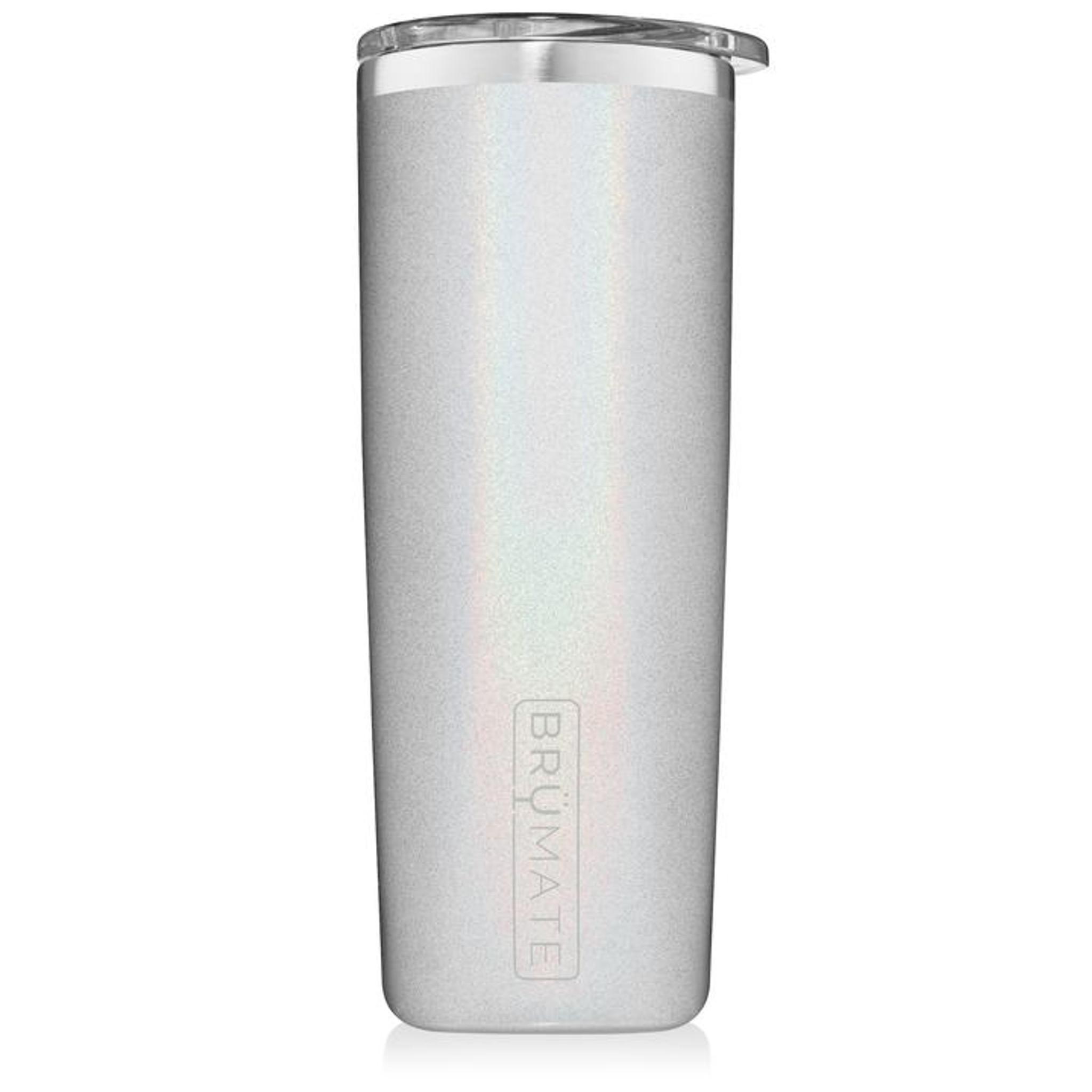 Brumate Highball Tumbler - Glitter White
