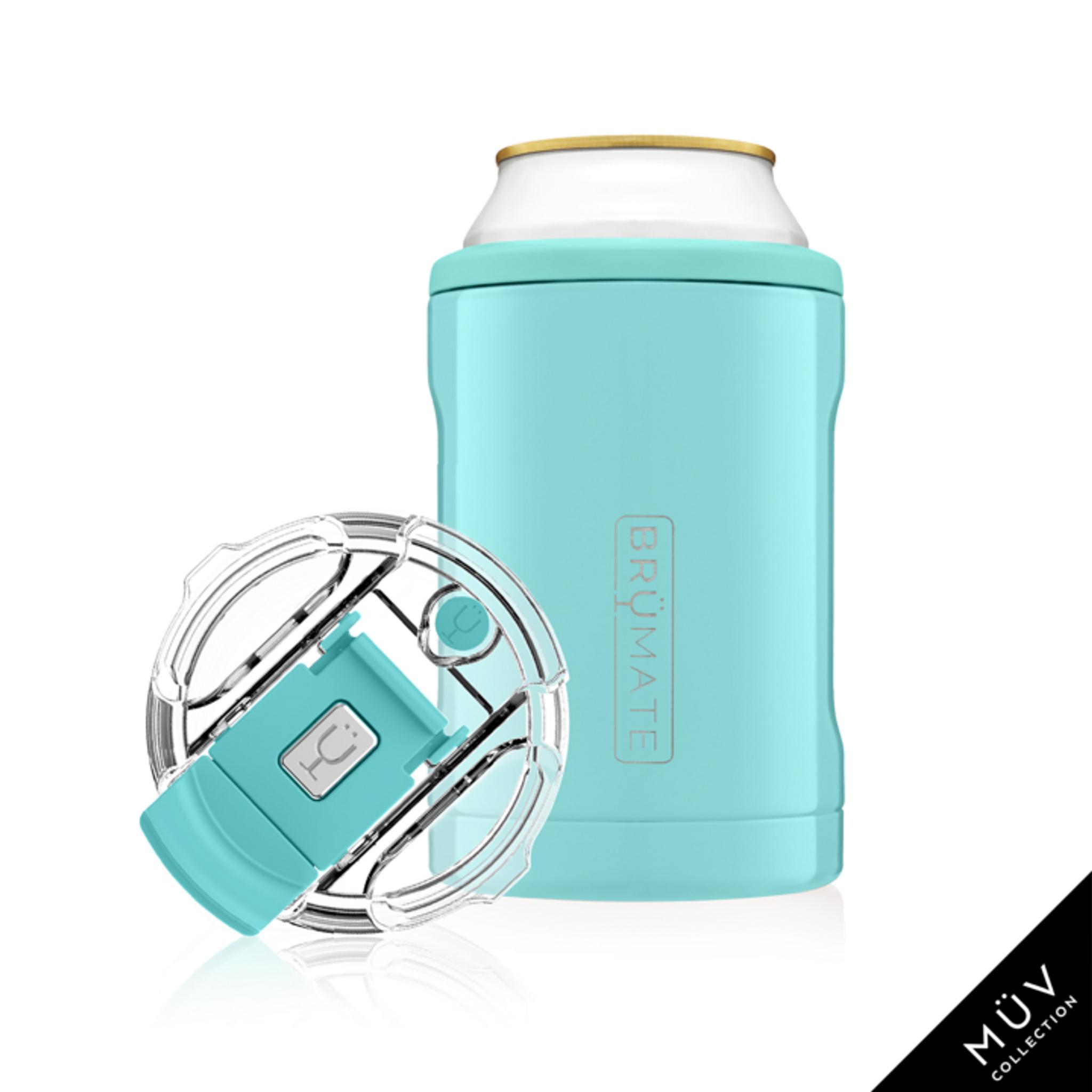 Brumate 12oz Duo Hopsulator  - Aqua