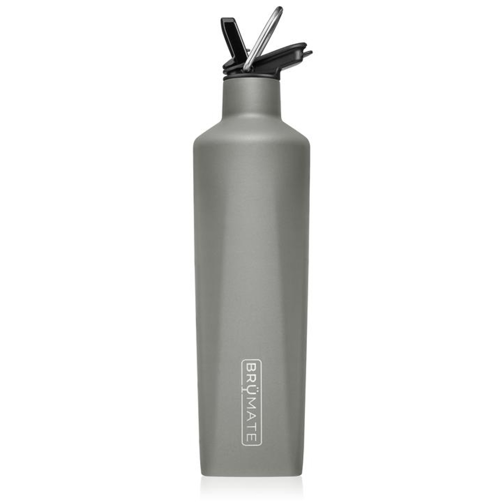 Brumate Rehydration Bottle - Matte Grey