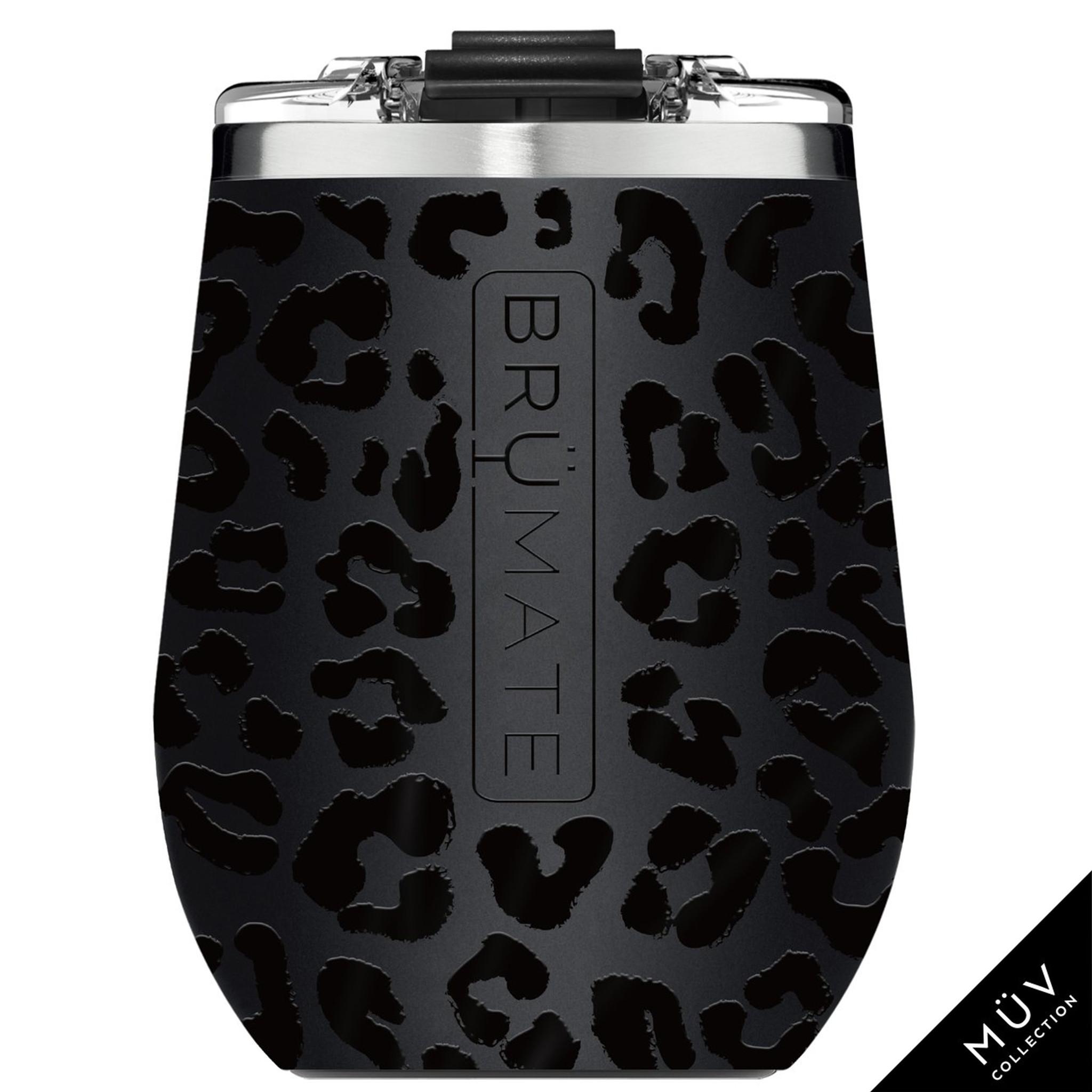 Brumate MUV Wine Tumbler - Onyx Leopard
