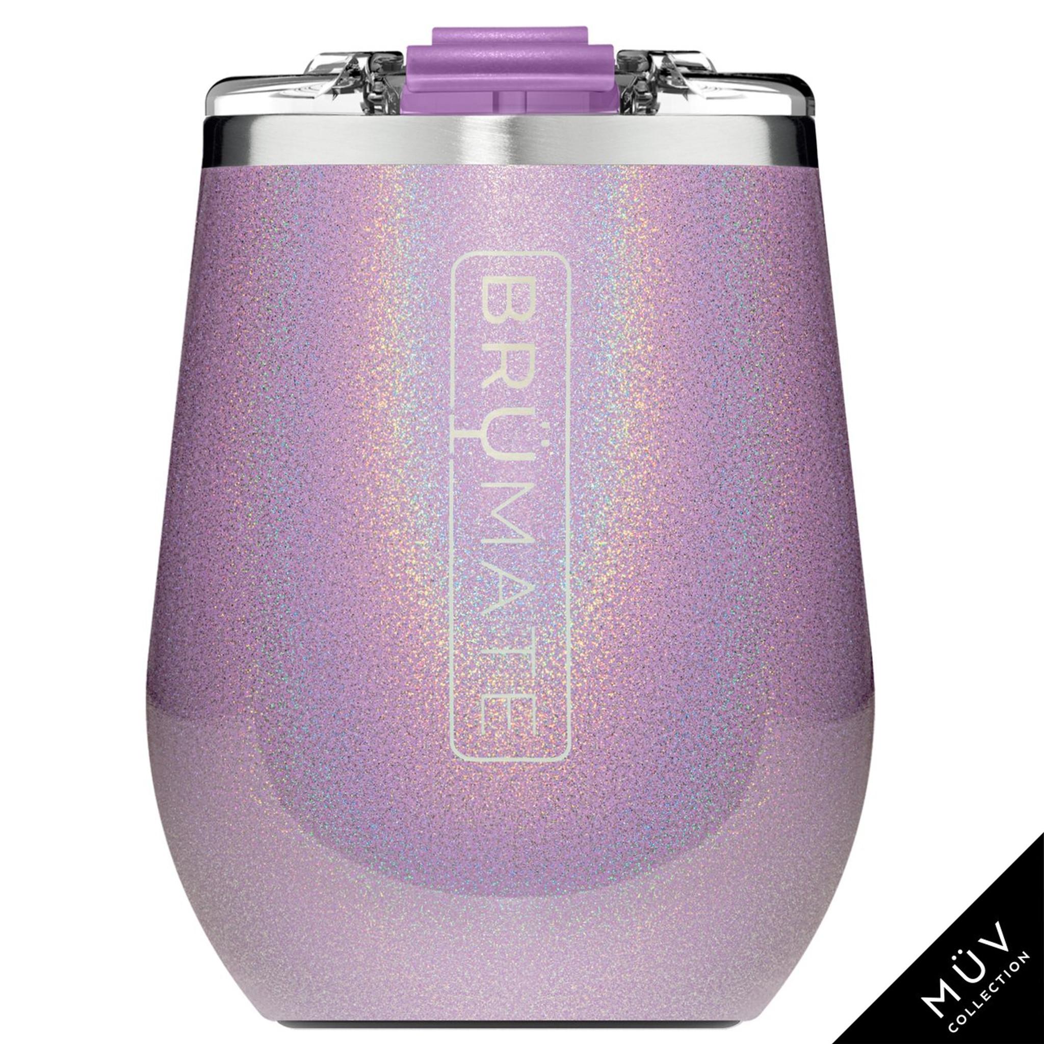 Brumate MuV Wine Tumbler - Glitter Violet