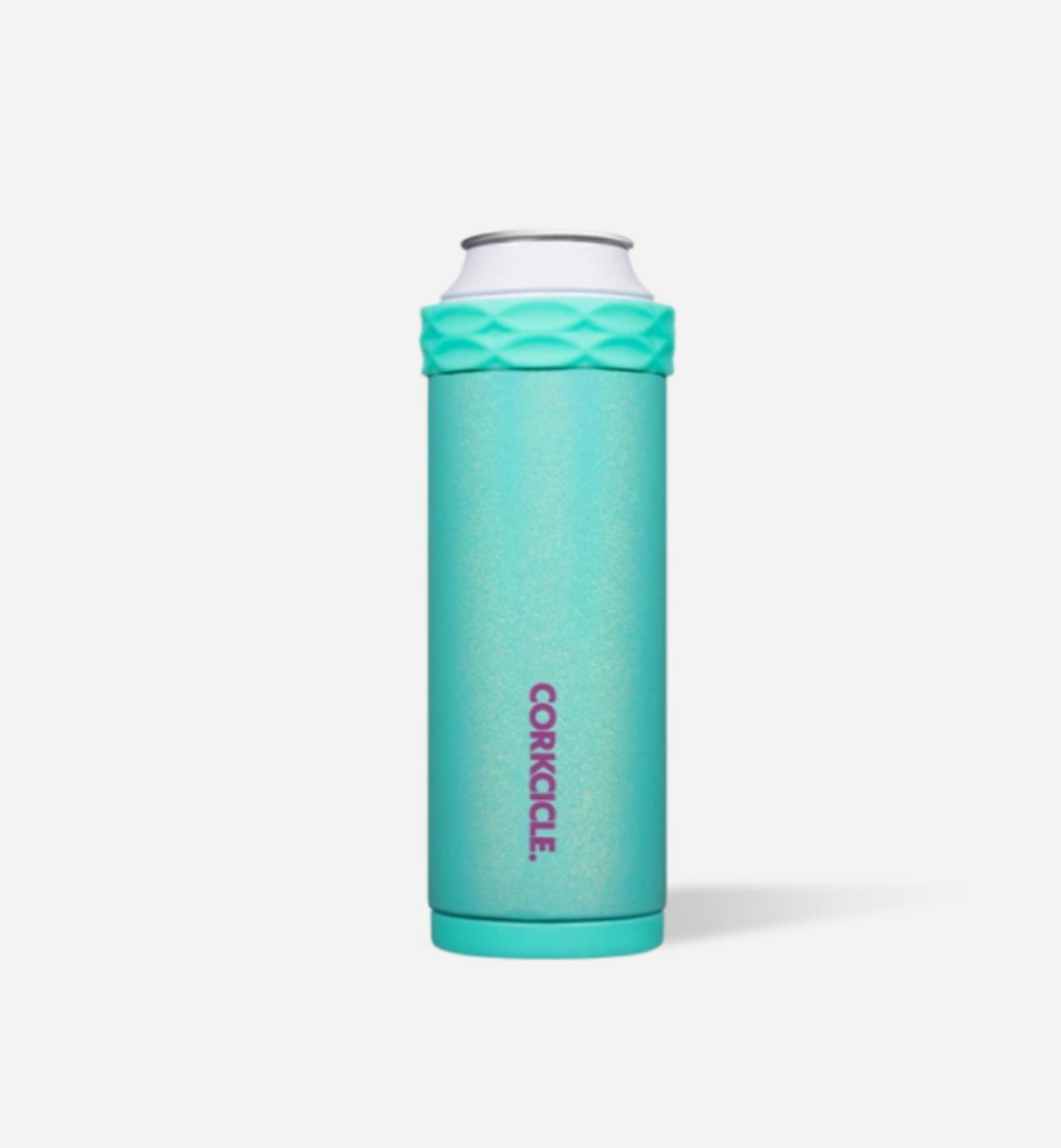 Corkcicle Slim Can Cooler - Sparkle Mermaid