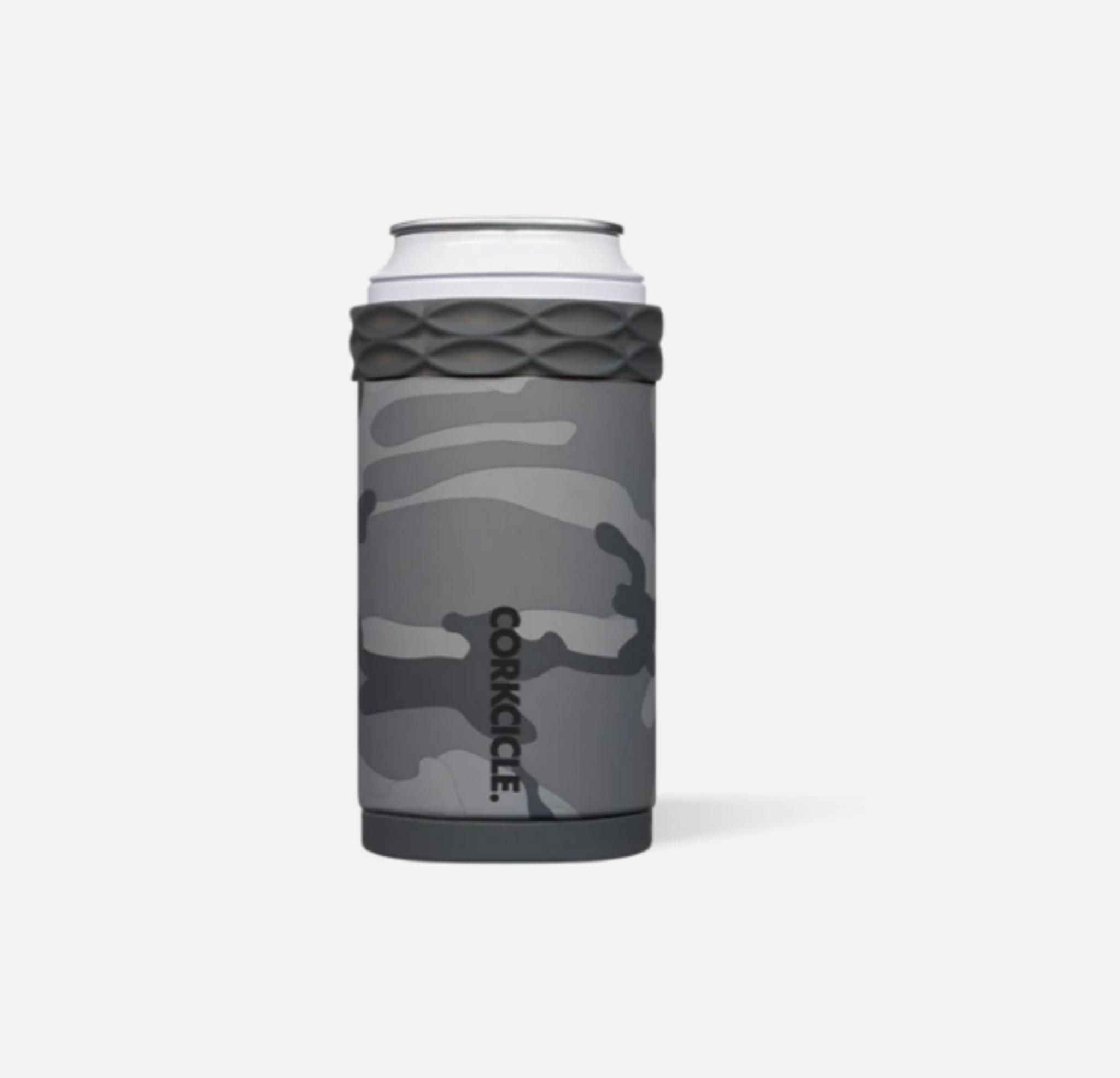 Corkcicle Can Cooler - Grey Camo