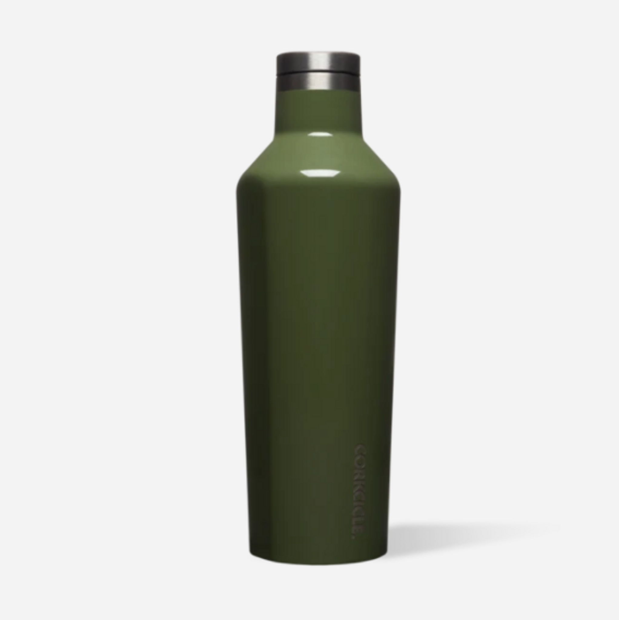 16 Oz Canteen - Gloss Olive