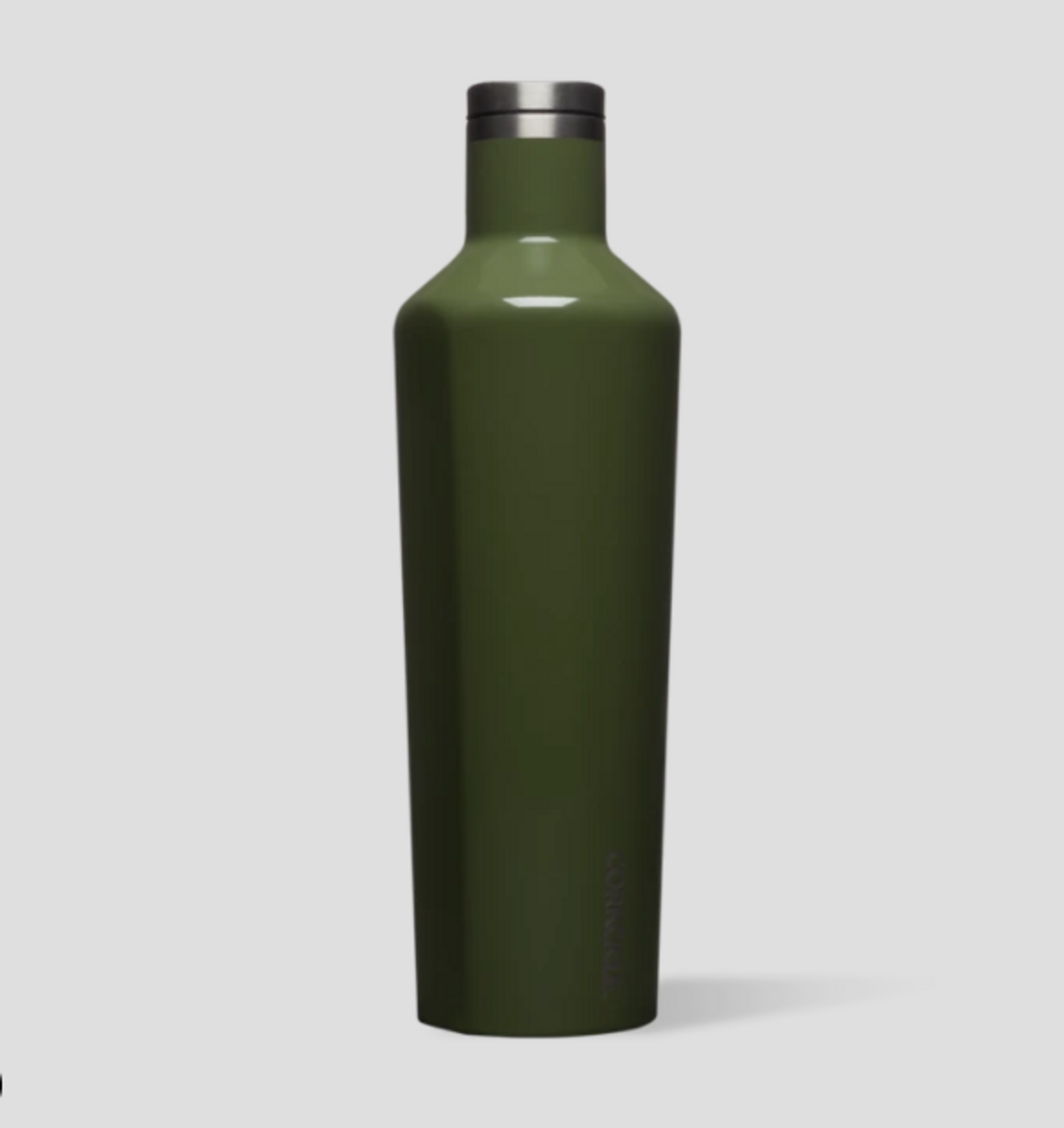 25 Oz Canteen - Gloss Olive