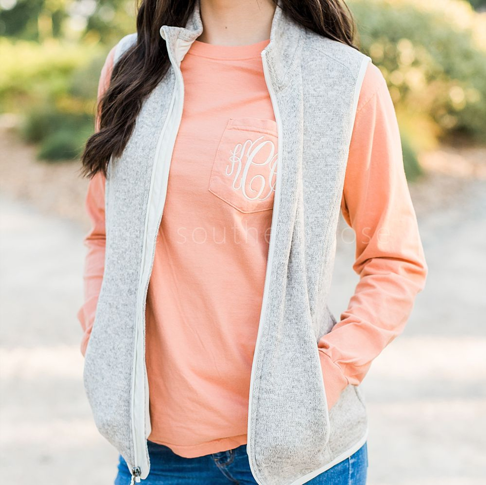 Comfort Colors Long Sleeve - Terracotta Orange