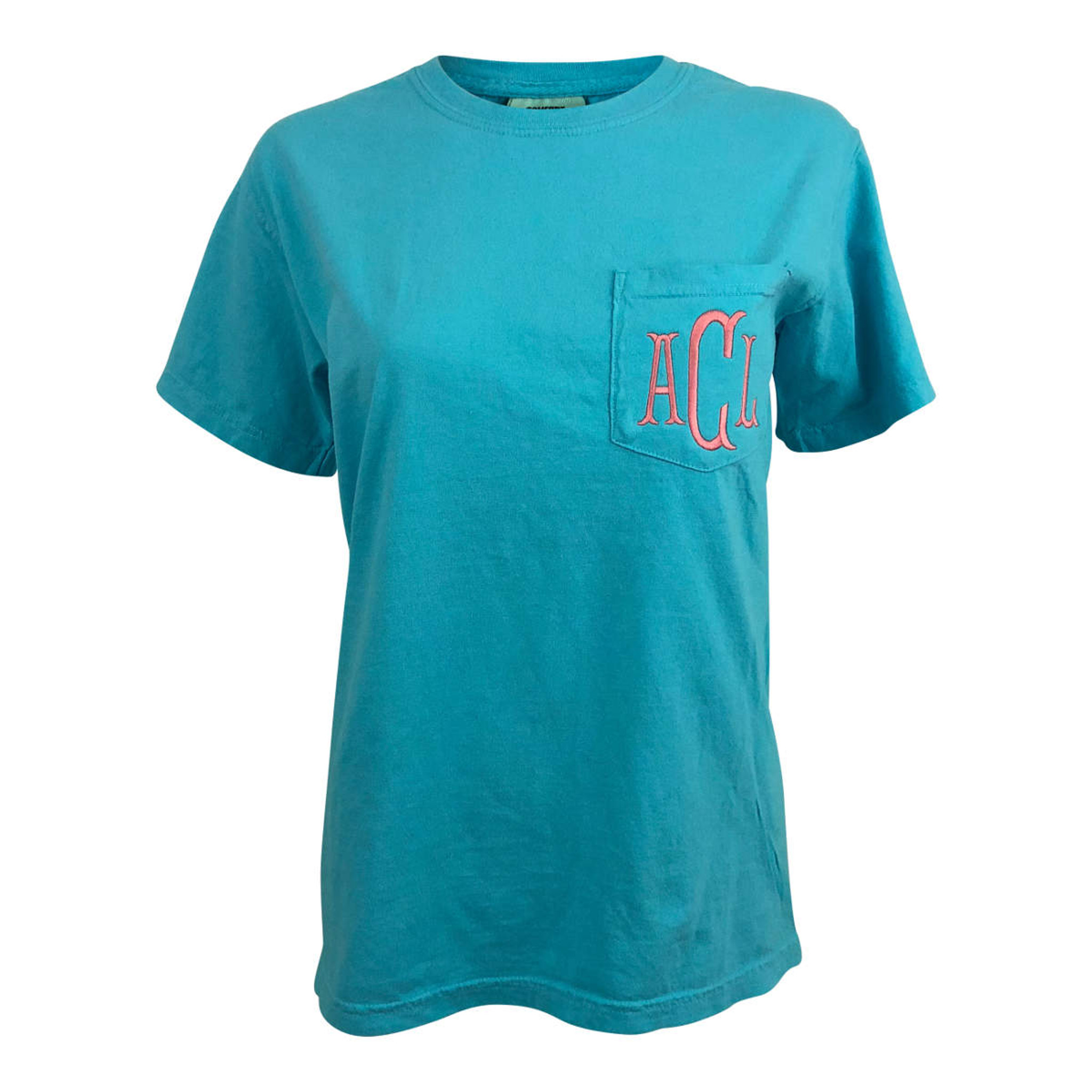 Comfort Colors Short Sleeve - Bright Blue
