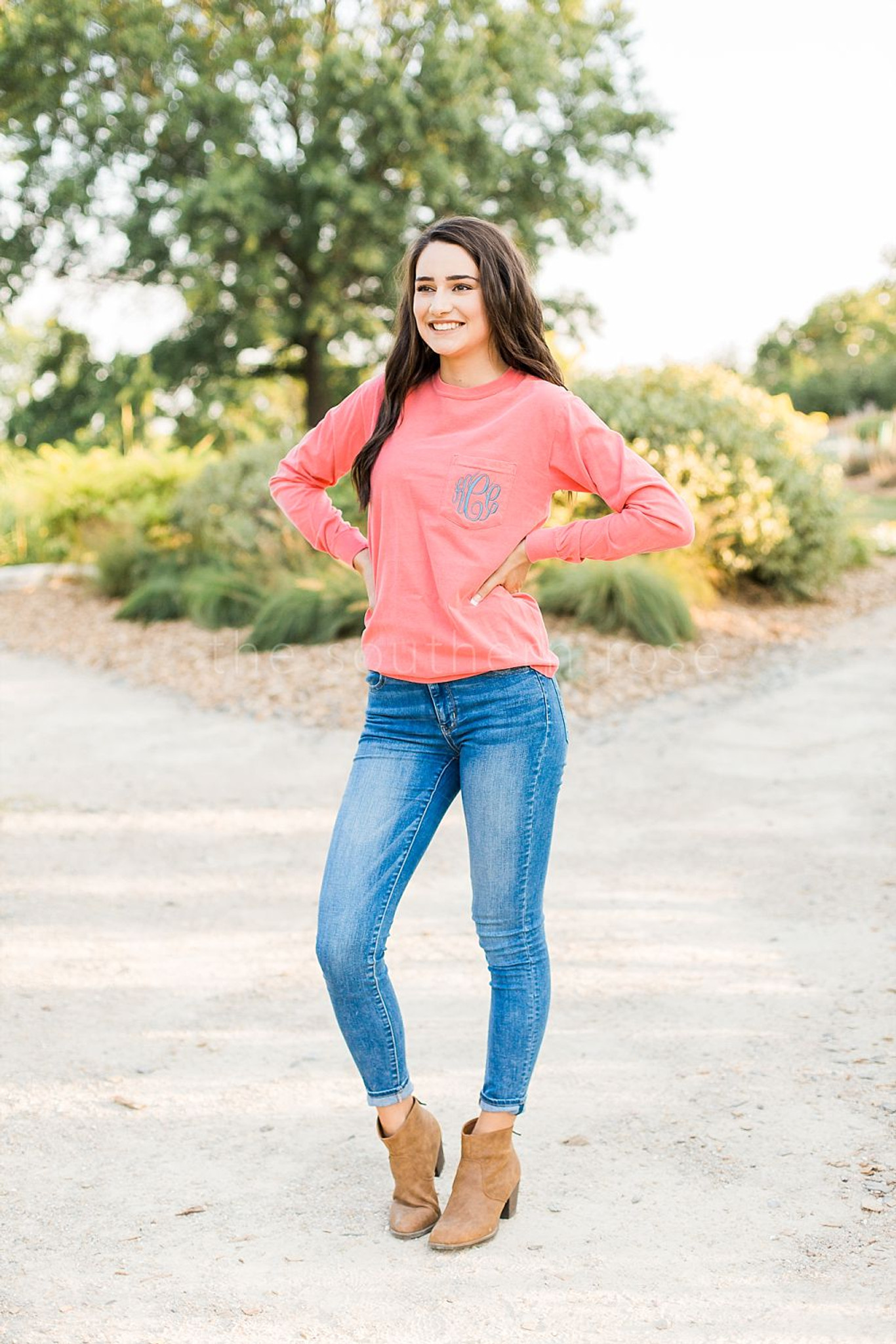 Comfort Colors Long Sleeve - Watermelon