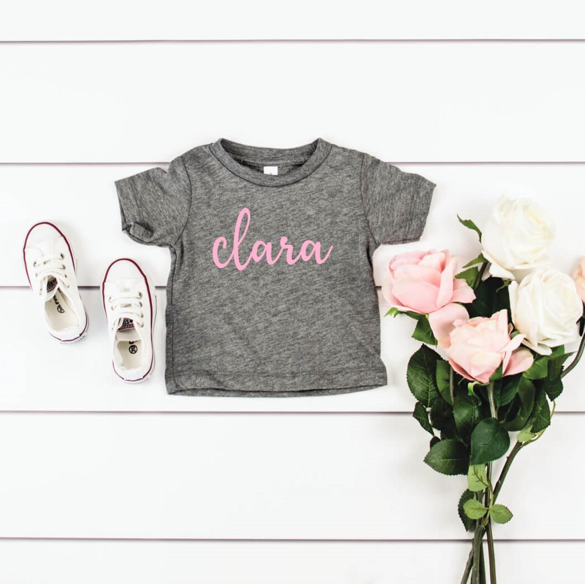 Kids Bella Canvas T-Shirt - Grey
