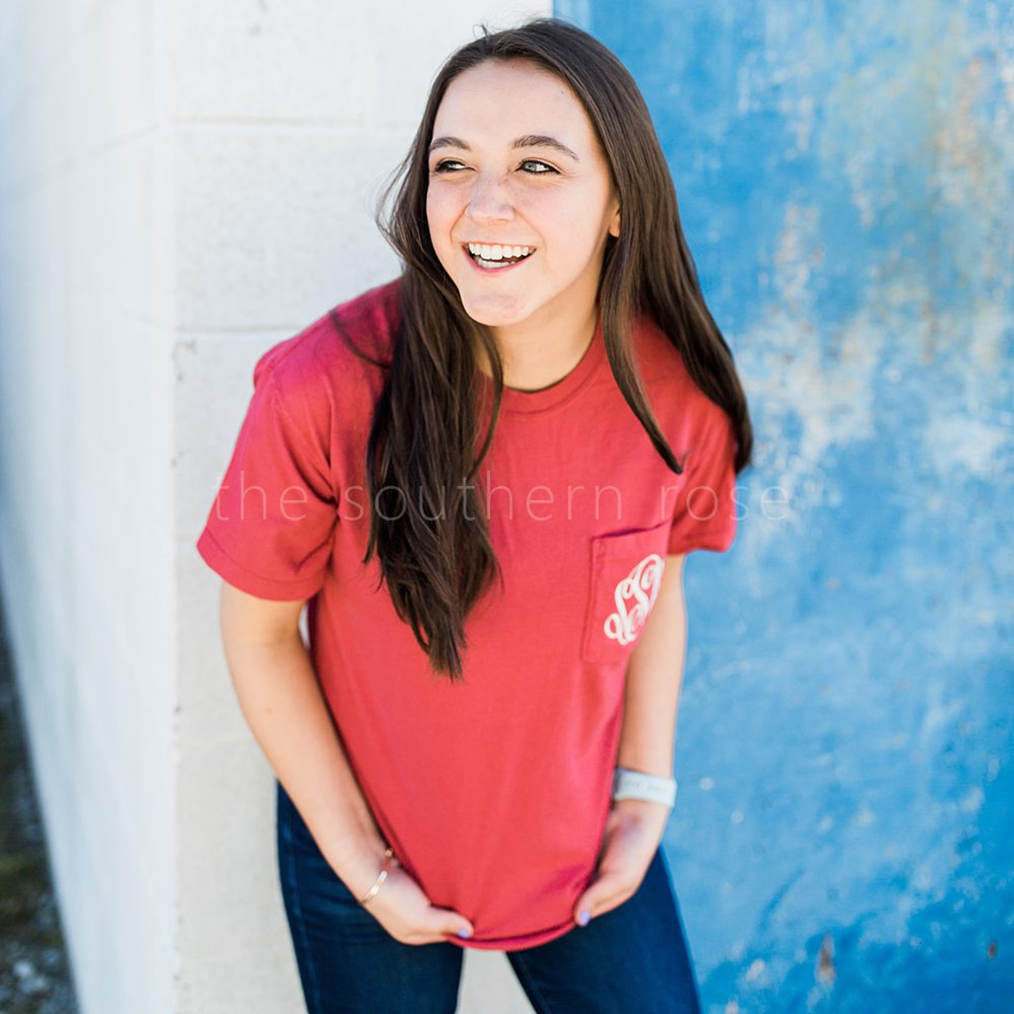 Comfort Colors Short Sleeve - Chili Red