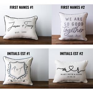 PREORDER | Custom Established Pillow