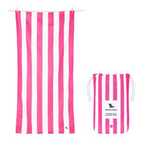 Dock & Bay Quick-Dry Large Towel - Phi Phi Pink