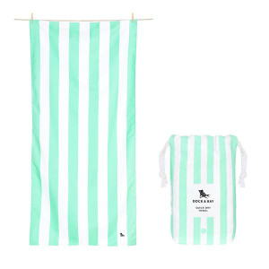 Dock & Bay Quick-Dry Large Towel - Narrabeen Green