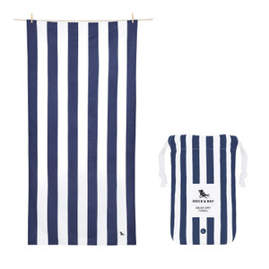 Dock & Bay Quick-Dry XL Towel - Whitsunday Blue