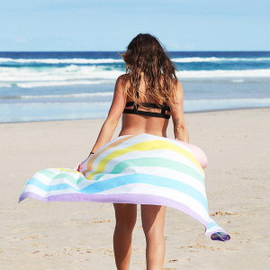 Dock & Bay Quick-Dry XL Towel - Unicorn Waves