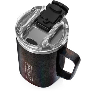 Brumate Toddy 16oz Mug - Glitter Charcoal