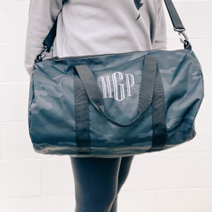 Duffle Bag - Black Camo