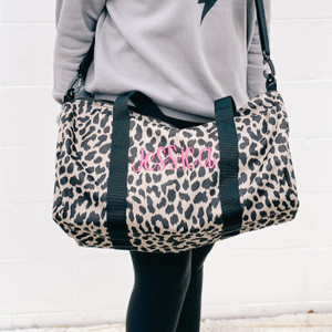 Duffle Bag - Tan Cheetah