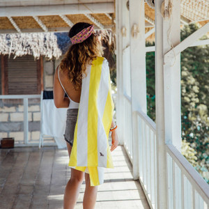Dock & Bay Quick-Dry Large Towel - Boracay Yellow