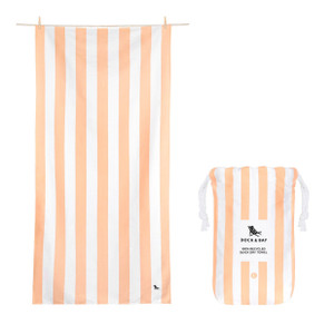 Dock & Bay Quick-Dry Large Towel - Positano Peach