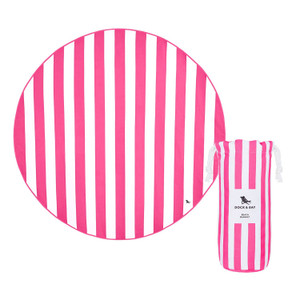 Dock & Bay Quick-Dry Beach Blanket - Phi Phi Pink