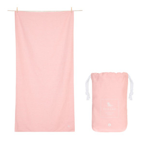 Dock & Bay Quick-Dry Small Towel - Island Pink
