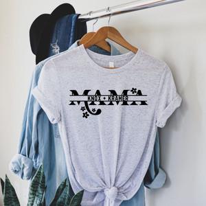 Custom White Mama Tee