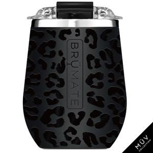 Brumate 14oz Wine Tumbler - Onyx Leopard