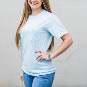 Comfort Colors Short Sleeve - Light Blue
