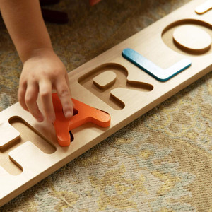 Custom Wood Name Puzzle