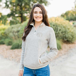 Heather Pullover Oatmeal