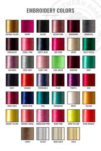 Personalized Cosmetic Bag - Metallic Pink