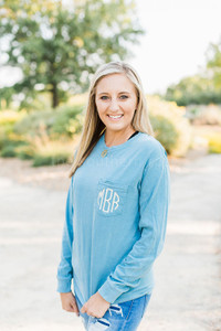 Comfort Colors Long Sleeve - Ice Blue
