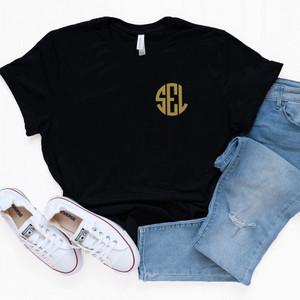 Personalized Black T-Shirt