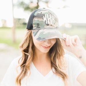 Camoflauge Trucker Hat