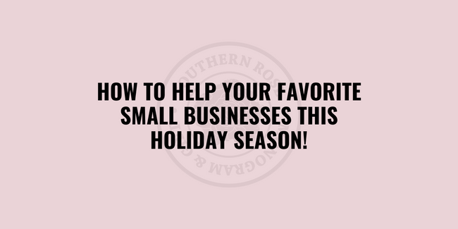 4 Ways to Help Small Business This Holiday Season