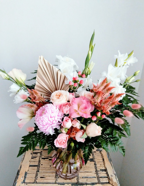 Romantic Vase Arrangement