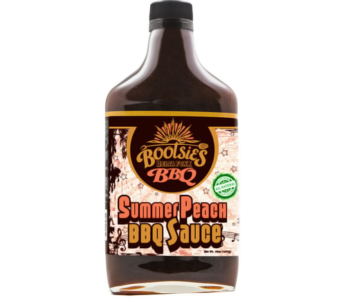 Bootsies Summer Peach BBQ Sauce