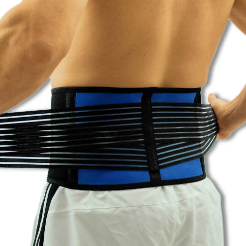 Breathable Neoprene Lower Back Support | Quality Adjustable Lumbar Belt