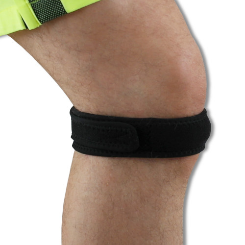Magnetic Therapy Patella Knee Strap | Thin Neoprene Strap Contains 8 Pain Relieving Magnets | Neo310m