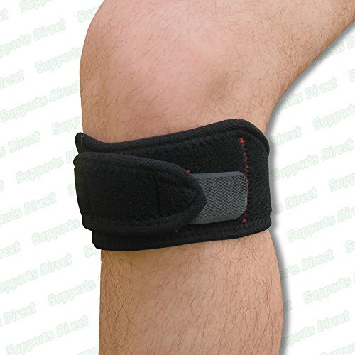 Large Flat Magnetic Patella Knee Strap Support