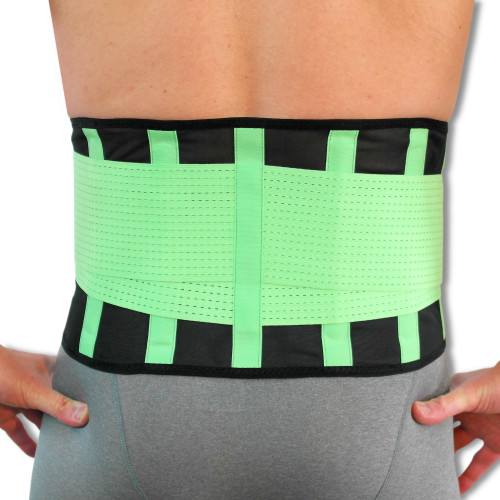 Advanced Breathable Lower Back Support Belt | Great for Active People