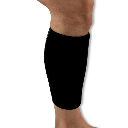 Wraparound Neoprene Calf Support | Perfect for Shin Splints, Muscle Tears, Pains and Sprains