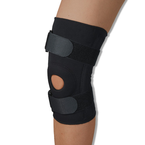 Neoprene Knee Brace with 4 Spiral Stabilizer Stays | Medical Grade